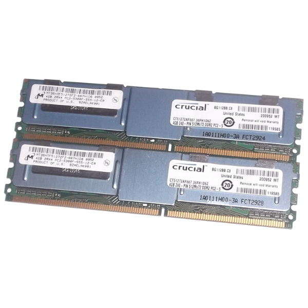 Memory RAM For Servers ECC Crucial MT36HTF51272FZ-667H1D6