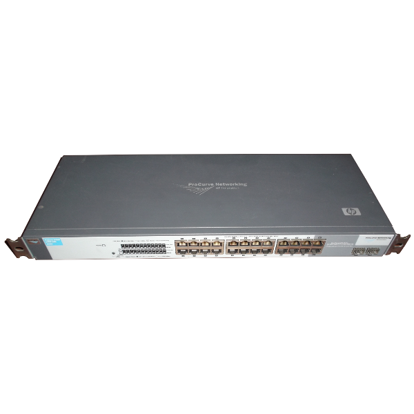 Gigabit Switch HP Procurve 1400-24G Front