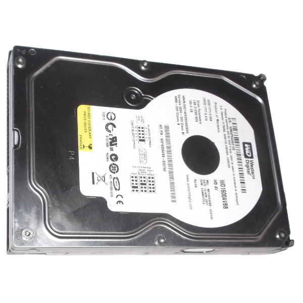 HDD Western Digital WD1600AVBB 160GB Hard Drive