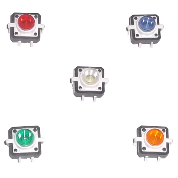 LED Tactile Push Button Switch Momentary