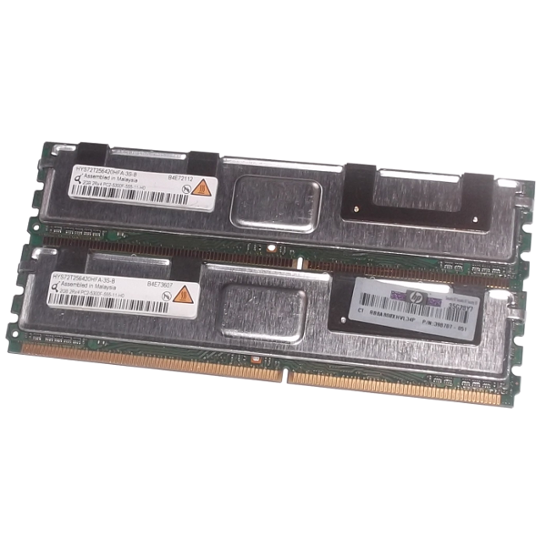 Memory RAM 4GB For Servers ECC HYS72T256420HFA-3S-B