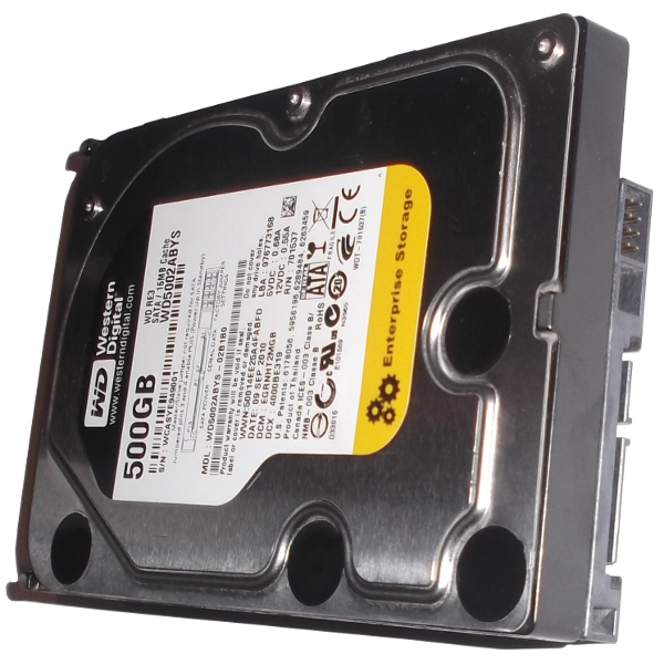 Hard Disk Drive HDD SATA 500GB Western Digital WD RE3 WD5002ABYS