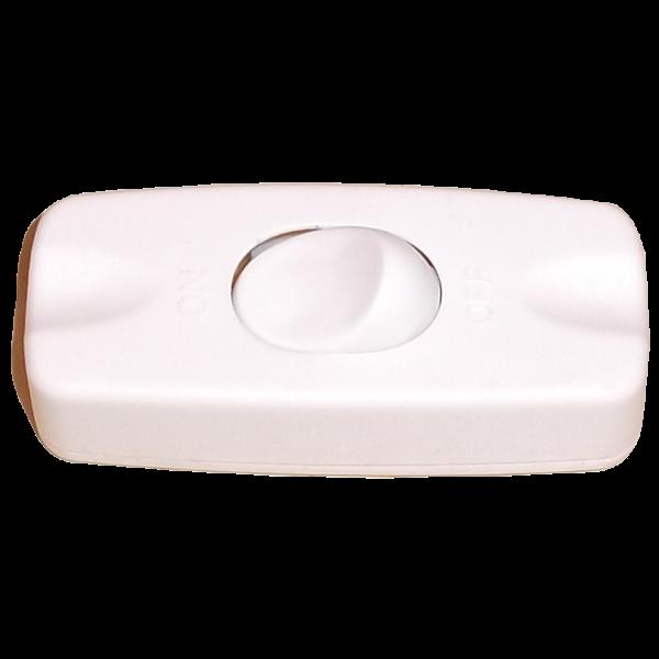 SPST Switch 240V White